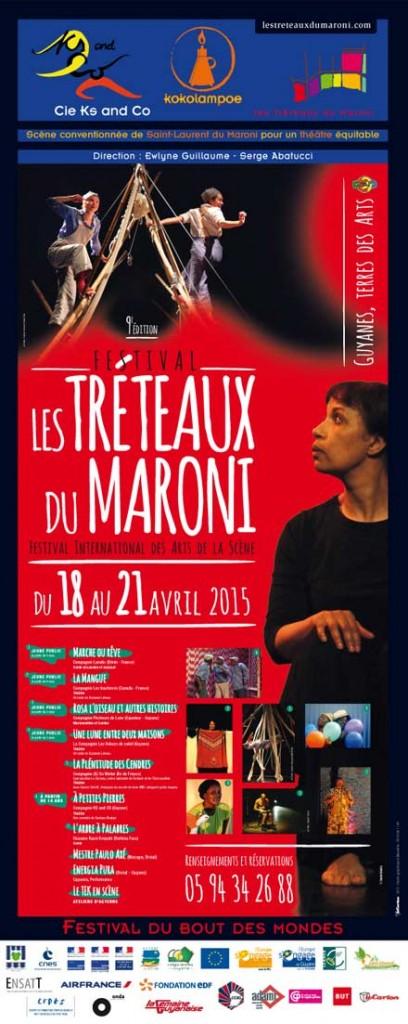 Les tréteaux du Maroni 2015