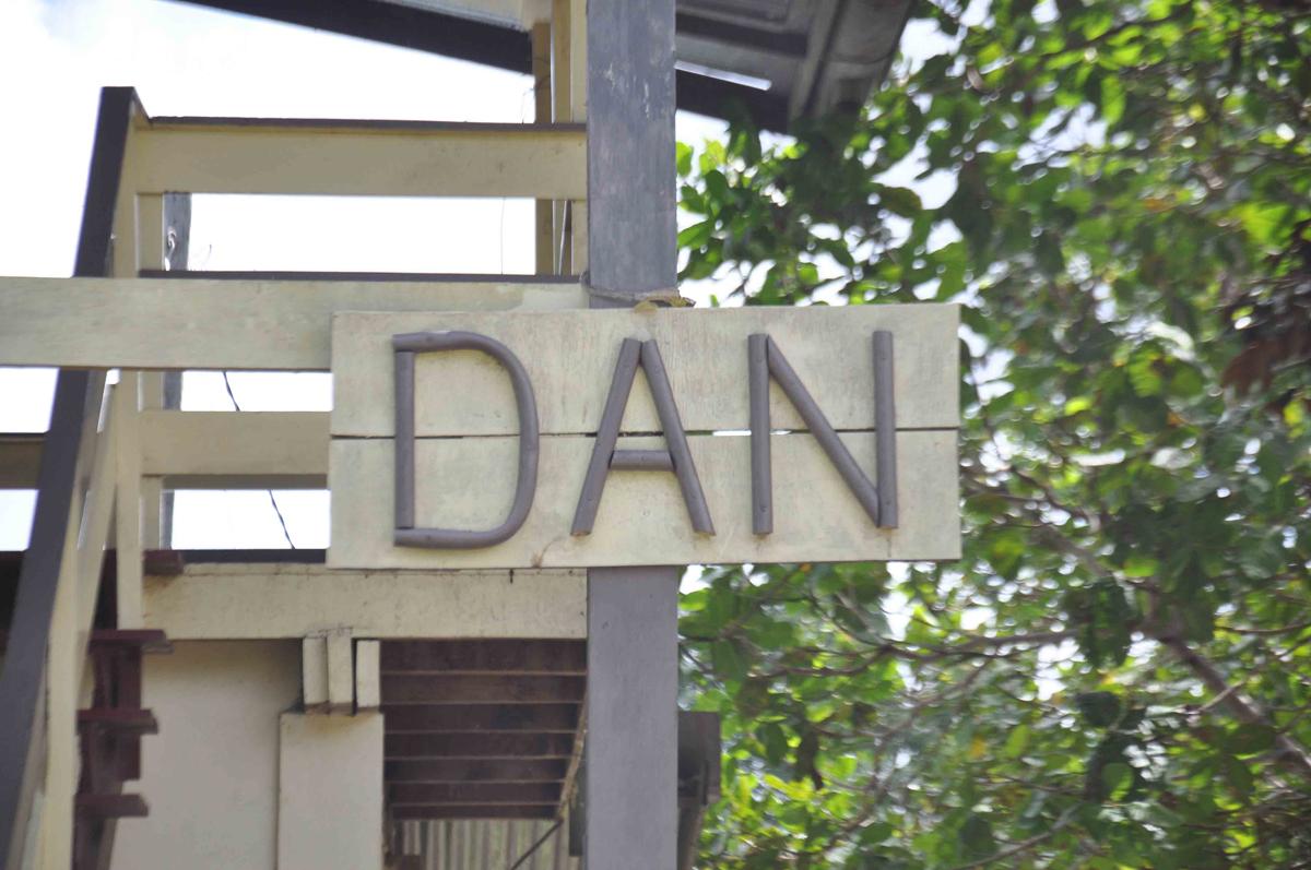 Rencontre à Dan (haut Surinam)