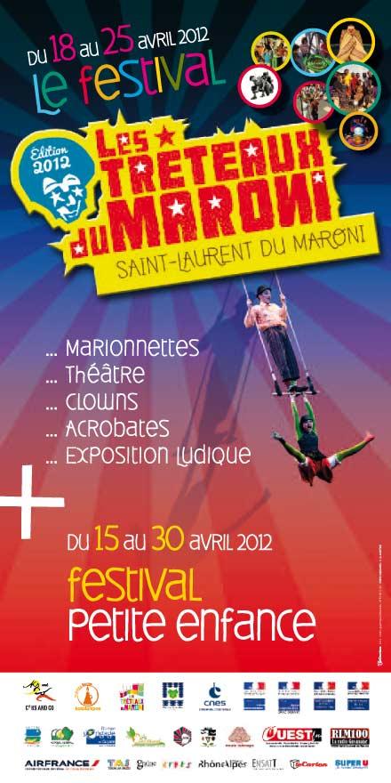 Les tréteaux du Maroni 2012