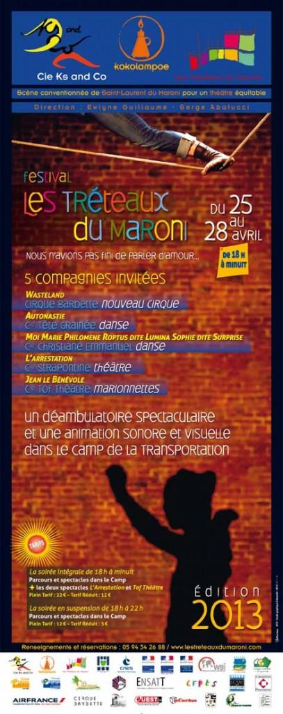 Les tréteaux du Maroni 2013