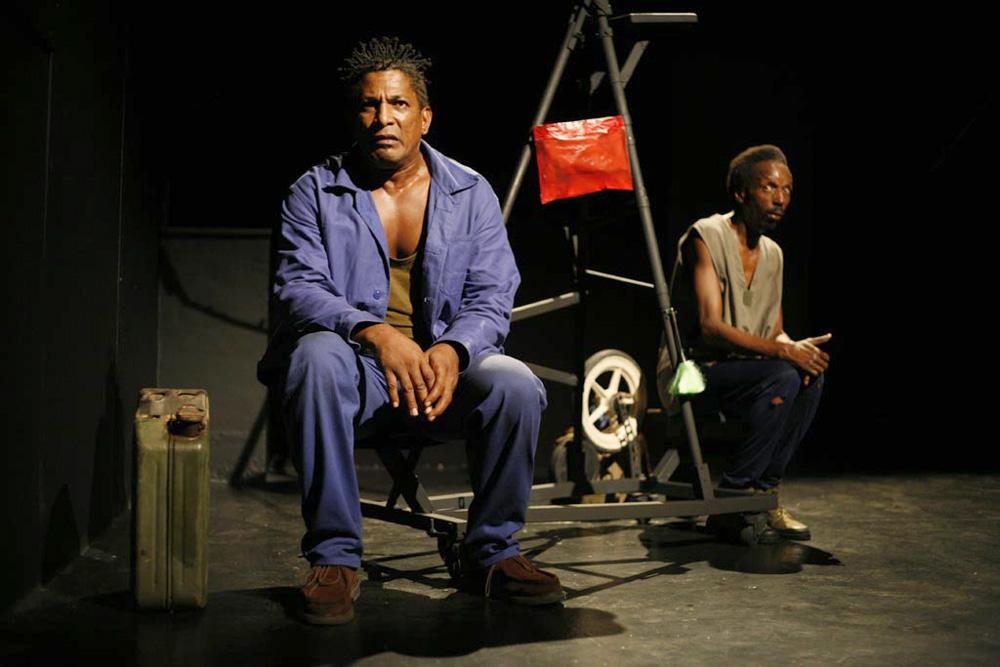 la route - Création Cie KS and CO - Centre dramatique Kokolampoe - Guyane