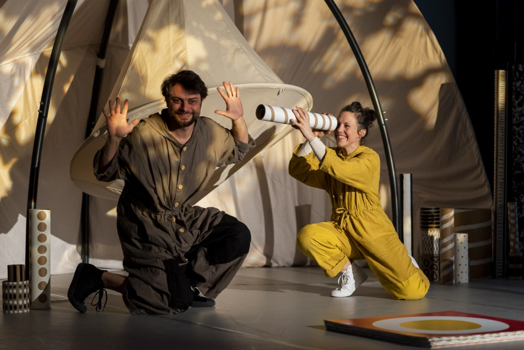 coucou-Théâtre d'Objet et musique dès 18 mois Collectif Ma Théâ Centre de créations pour l'enfance