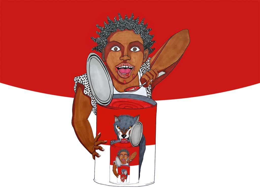 La véridique histoire du Petit Chaperon Rouge - kokolampoe - saison 2020-2021